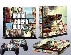 HOT Popular Stickers Skins for PlayStation 4 PS4 + 2 Controller Skins Free Ship #UnbrandedGeneric