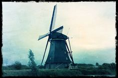 Kinderdijk, Holland.  http://www.molenskinderdijk.nl/