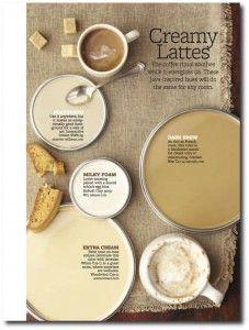 Creamy Lattes Paint Palette