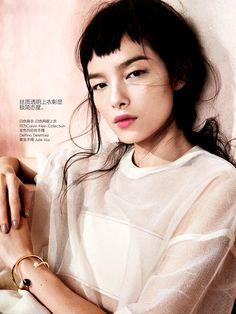 ☆ Fei Fei Sun   Photography by Sharif Hamza   For Vogue Magazine China   May…