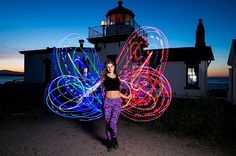 LED Hooping Butterfly with Sarah Schireman