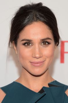 Meghan Markle at the Elton John AIDS Foundation An Enduring Vision Benefit in 2014.