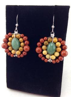 A personal favorite from my Etsy shop https://www.etsy.com/listing/499004438/unique-earringshandmade-earringssterling