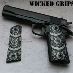 Custom 1911 grips for my Ruger....