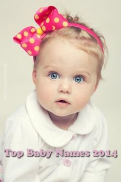 Top Baby Names 2014 for Girls