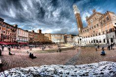 Piazza del Campo by Giovanni Camusso on 500px