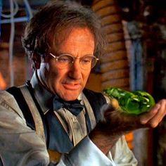 """Robin Williams en """"Flubber y el Profesor Chiflado"""" (Flubber), 1997"""