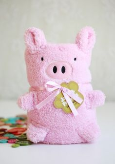 Pink As A Piglet Blanket