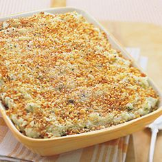 This Mashed Potato Gratin combines two of our favorite comfort foods ...