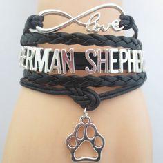 INFINITE LOVE GERMAN SHEPHERD BRACELET