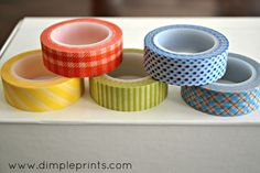 JUST discovered downtown tape washi tape! Making an order if anyone {local} wants to add anything :)