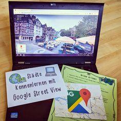"""Gefällt 30 Mal, 2 Kommentare - @miss_frenglish auf Instagram: """"🌍Google Maps zum Erkunden fremder Städte💻 Meine Zehner beschäftigen sich demnächst mit der Stadt…"""" Tours, Teaching French, Google, Instagram, Too Busy, Explore, Teaching French Immersion"""