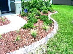 Easy And Innovative Garden Edging Ideas On A Budget - Modern Landscape Edging Borders, Garden Borders, Garden Edger, Patio Edging, Stone Edging, Landscape Curbing, Front Yard Landscaping, Landscaping Edging, Landscaping Ideas
