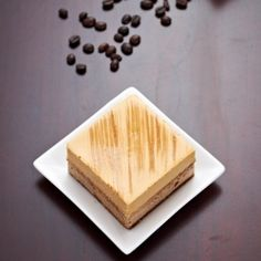 Brésilienne - coffee & caramel entremets from Hidemi Sugino