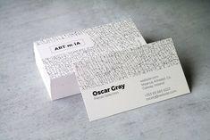 A R T E M I A Business Card by Black.dot™ on @creativemarket