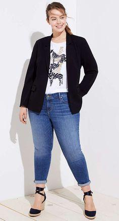Plus Size Blazer - Plus Size Fashion for Women #plussize