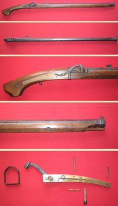 Japanese matchlock, total length:1088mm, barrel length:815mm, weight:3880g.