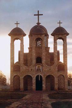 Photo of a church in Kosovo