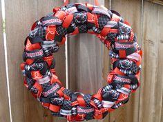 Tampa Bay Buccaneers NFL Ribbon Wreath