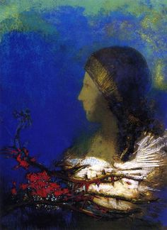 Red Thorns  Odilon Redon