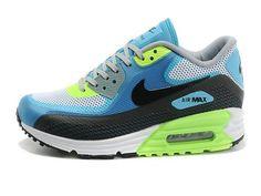a8852f1084 Pas cher France Femme Homme Nike Air Max 90 Chaussures Lunar90 Blanche  Gamma Bleu Volt
