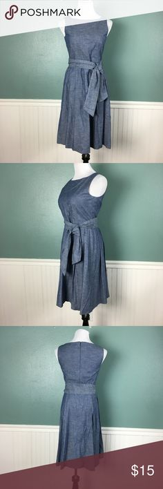 LL Bean Signature Denim Dress I wore this on ESPN for a Live show! I only wore it a few times after that.  I'm cleaning out my closet so I just need it gone! L.L. Bean Dresses Maxi