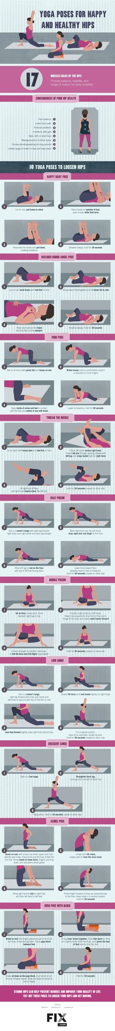 Yoga can do wonder for your hips, so why not add these 10 poses to your daily routine?
