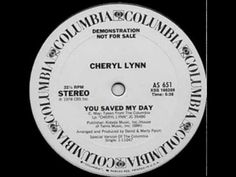 ▶ Cheryl Lynn ‎- You Saved My Day - YouTube