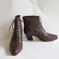 Lace Up Ankle Booties!!