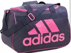 83c4e0ecaa The adidas™ Diablo Small Duffel Bag features a top-loading main compartment  and web carrying handles with a padded wrap.