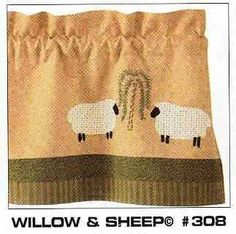 """Willow & Sheep 13"""" x 54"""" Runner by Runner - Country. $24.99"""