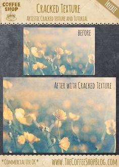 The CoffeeShop Blog: CoffeeShop Artistic Cracked Texture and Tutorial: Part 2!