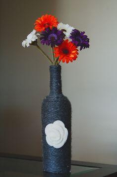 Beautiful Handmade Wine Bottle