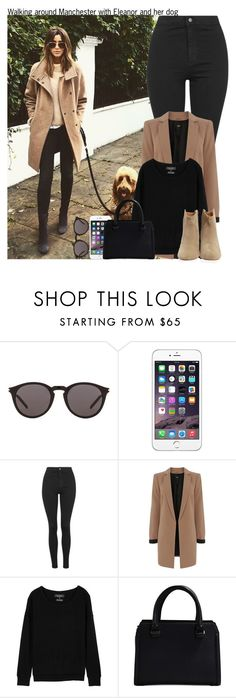 """""""Walking around Manchester with Eleanor and her dog"""" by irish26-1 ❤ liked on Polyvore featuring Yves Saint Laurent, Topshop, Oasis, rag & bone, Victoria Beckham and Isabel Marant"""