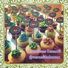 Cup cakes para baby shower de Jerónimo... Horneados con mucho amor. Pedidos wapp 3112080181.