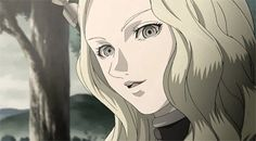 Teresa Claymore gif Anime Girls with Blonde Hair