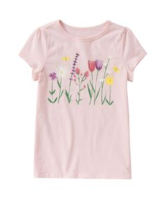 Sparkle Flower Tee at Crazy 8