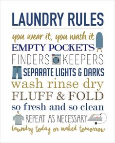 On Monday I showed you guys my parents' new laundry room makeover.One of my favorite elements of the room was the Laundry Rules printable I created so of course I had to share it with you guys for FREE! I tried to keep this pretty neutral so I hope it worksfor most people! And just …