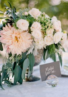 Featured Photographer: Jose Villa; Wedding reception centerpiece idea.
