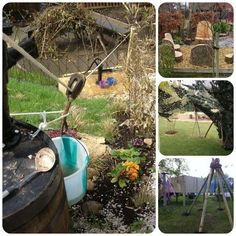 Great inspiration for kid outdoor spaces