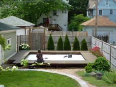 The beautiful Zen Garden at the residence of Zen Master Robert Althouse and June Tanoue, 1/2 block from Zen Life & Meditation Center of Chicago, in Oak Park, IL  summer2.jpg