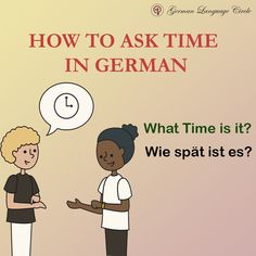 How to ask for time in German! Come learn more with us. .. .. Follow @germanlanguagecircle Follow @germanlanguagecircle  Follow @germanlanguagecircle  Follow @germanlanguagecircle .. .. .. #german #germanlanguagecircle #language #germanclock #asktime #studytime #timeingerman #learngermanonline #learngerman #learngermanwithme #learnlanguageswithus #germanlanguagecourse #vocabularyword #wordsingerman #deutschonline #deutschland #deutsch #sprachenlernen #sprache #online #zoomclasses #youtubevstikto German Language Course, German Language Learning, Social Link, What Time Is, I Want To Work, Global Citizen, Learn German, Future Career, Vocabulary Words