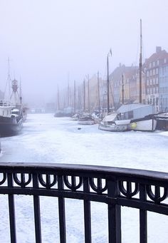 Winter in Copenhagen, Denmark