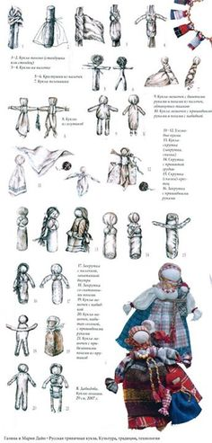 .Motanka Doll Instructions