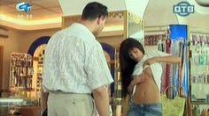 Prezentacija kreme za tijelo - seksi skrivena kamera
