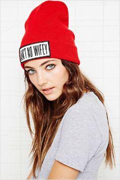 9654dbde8f1 Dimepiece Aint No Wifey Beanie Hat