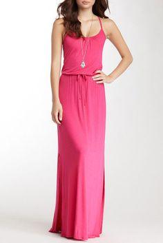 NWT! Loveappella Drawstring Maxi Dress   SZ S  A293 #Loveappella #Maxi