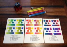 All sizes | Polychromos primary colors blends finished. | Flickr - Photo Sharing!
