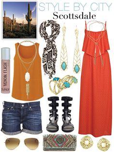 Style By City - Scottsdale, Arizona. #KendraScott