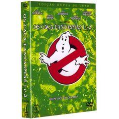 DVD Os Caça-Fantasmas 1 & 2 - Edição de Luxo (Duplo)